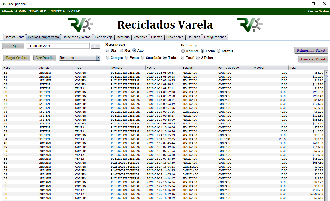 Reciclados Varela